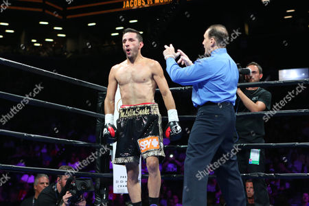 Sergio Mora Sergio Mora receives a count after being knocked down in round 2 by Daniel Jacobs during their WBA Middleweight title fight at the Barclays Center in Brooklyn, on . Jacobs won via TKO in round 2 when Mora could not continue due to an ankle injury