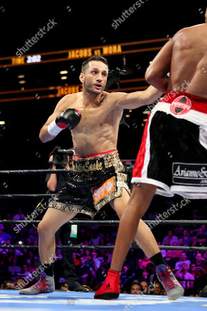 Sergio Mora Sergio Mora in action against Daniel Jacobs during their WBA Middleweight title fight at the Barclays Center in Brooklyn, on