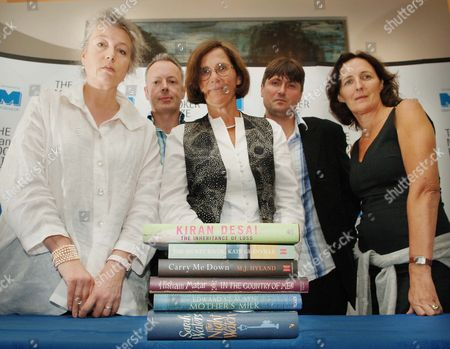 Editorial photo of Press conference to announce the Man Booker Prize for Fiction 2006 Shortlist at Man Group offices, London, Britain - 14 Sep 2006