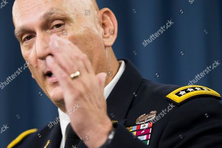 Ray Odierno Retiring Army Chief of Staff Gen. Ray Odierno speaks during his final news briefing at the Pentagon, . Odierno said the U.S. should consider embedding American forces in Iraqi units to help advise them if officials conclude that the Iraqi military backed by U.S. and coalition airstrikes is not making enough progress against the Islamic State