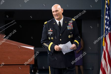 Ray Odierno Outgoing Army Chief of Staff Gen. Ray Odierno arrives to speak at his final news briefing, at the Pentagon