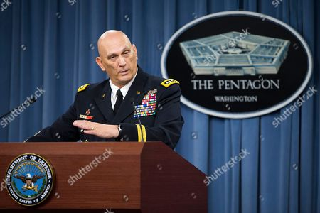 Ray Odierno Outgoing Army Chief of Staff Gen. Ray Odierno speaks during his final news briefing, at the Pentagon