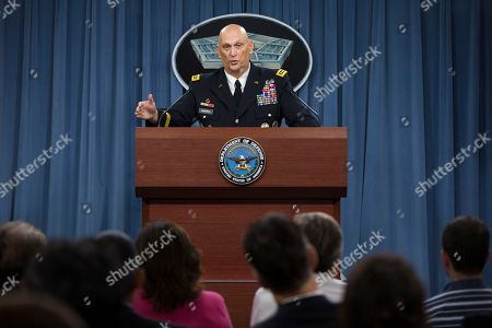 Ray Odierno Outgoing Army Chief of Staff Gen. Ray Odierno speaks during his final news briefing at the Pentagon