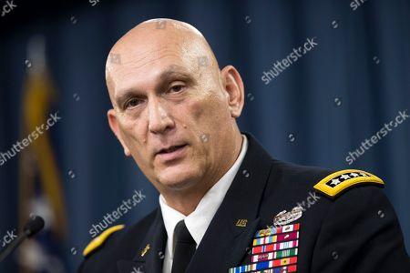Editorial photo of Pentagon Odierno, Washington, USA