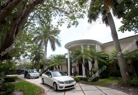 This photo shows the exterior of the five-bedroom Florida mansion belonging to 1970's heartthrob David Cassidy in Fort Lauderdale, Fla. Cassidy, 65, is auctioning the waterfront home and all its furnishings Sept. 9 as part of bankruptcy and divorce proceedings