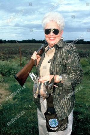 Ann Richards hunting