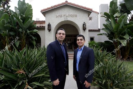 Stock Picture of Gilbert Cerda, Aaron Munoz Certified financial planners Aaron Munoz, left, and Gilbert Cerda pose for a photo at their offices in Downey, Calif. Their company, Cerda Munoz Advisors, offers financial advice with a focus on the Hispanic population