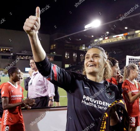 Editorial picture of Thorns Goodbye Soccer, Portland, USA