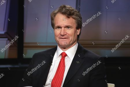 "Brian Moynihan Bank of America Chairman & CEO Brian Moynihan is interviewed by Maria Bartiromo during her debut ""Mornings with Maria Bartiromo"" program, on the Fox Business Network, in New York"