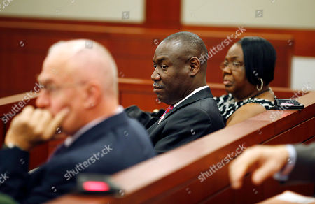Benjamin Crump, Patty King Attorney Benjamin Crump, center, sits in a courtroom with Patty King, right, in Las Vegas. B.B. King's family members have brought in Crump, a prominent national lawyer, to review the events surrounding the blues icon's death and estate