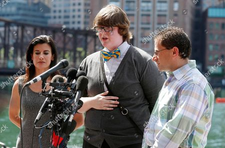 Lynn Julian,Scott Weisberg, Henry Borgard Boston Marathon bombing survivors, from left, Lynn Julian, Henry Borgard and Scott Weisberg speak to the media outside federal court in Boston, after Dzhokhar Tsarnaev was formally sentenced to death for his role in the bombing