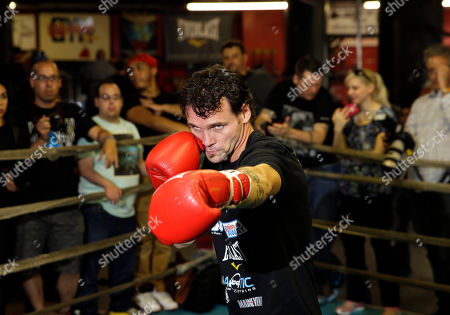 Daniel Geale Boxer Daniel Geale boxes during an open work out at a gym in the Brooklyn borough of New York, . Miguel Cotto is slated to defend his WBC world middleweight title agains Geale on Saturday, June 6, at Barclays Center in the Brooklyn