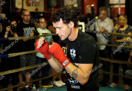Daniel Geale Boxer Daniel Geale boxes during an open work out at a gym in the Brooklyn borough of New York, . Miguel Cotto is slated to defend his WBC world middleweight title against Geale on Saturday, June 6, at Barclays Center in the Brooklyn