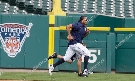 Editorial photo of Cubs Tigers Baseball, Detroit, USA