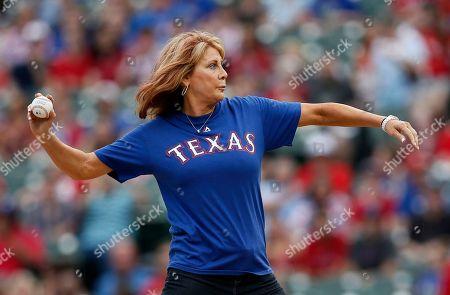 Editorial image of Diamondbacks Rangers Baseball, Arlington, USA