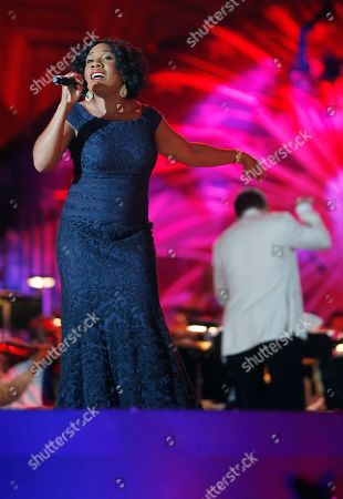 Melinda Doolittle Melinda Doolittle performs during rehearsal for the annual Boston Pops orchestra Fourth of July concert at the Hatch Shell in Boston