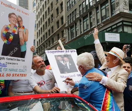 Editorial image of Gay Pride Parade, New York, USA