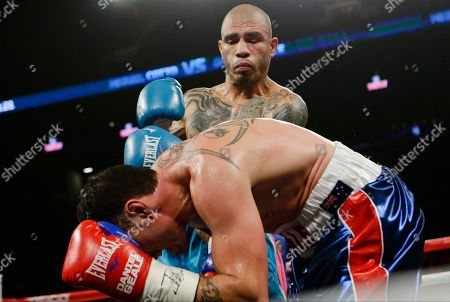 Editorial image of Geale Cotto Boxing, New York, USA