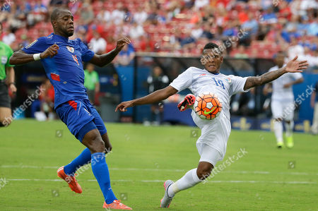 Editorial picture of Gold Cup Panama Haiti Soccer, Frisco, USA