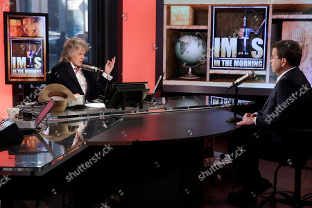 "Stock Image of Don Imus, Neil Cavuto Cable television and radio personality Don Imus, left, interviews Neil Cavuto, during his last ""Imus in the Morning"" program, on the Fox Business Network, in New York . This was the final broadcast on Fox Business Network, where he has appeared since 2009. The Imus show is nationally simulcast on radio on Cumulus Media Networks"