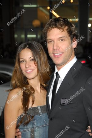 Stock Photo of Raquel Houghton and Dane Cook
