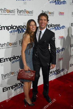 Stock Image of Raquel Houghton and Dane Cook