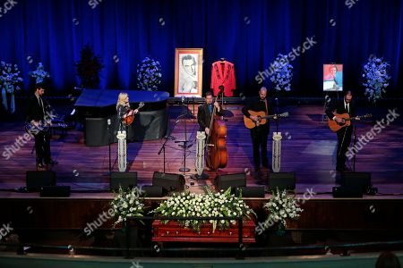 Editorial picture of Jim Ed Brown Funeral, Nashville, USA