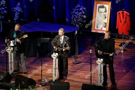 Gatlin Brothers The Gatlin Brothers perform during the funeral service for country music performer Jim Ed Brown at the Ryman Auditorium, in Nashville, Tenn. Brown, who was a member of the Grand Ole Opry and was recently elected to the Country Music Hall of Fame, died June 11. He was 81