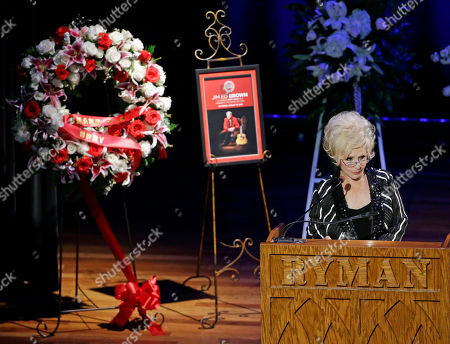 Brenda Lee Brenda Lee speaks during the funeral service for country music performer Jim Ed Brown at the Ryman Auditorium, in Nashville, Tenn. Brown, who was a member of the Grand Ole Opry and was recently elected to the Country Music Hall of Fame, died June 11. He was 81