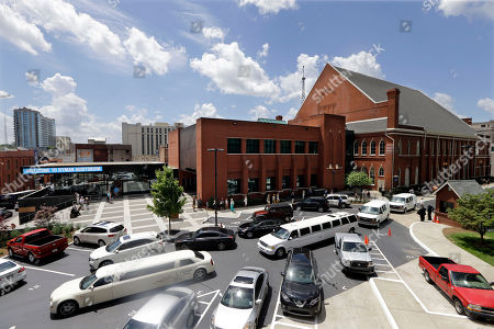 The funeral procession for country music performer Jim Ed Brown leaves the Ryman Auditorium, in Nashville, Tenn. Brown, who was a member of the Grand Ole Opry and was recently elected to the Country Music Hall of Fame, died June 11. He was 81