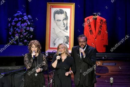 The Isaacs The Isaacs perform during the funeral service for country music performer Jim Ed Brown at the Ryman Auditorium, in Nashville, Tenn. Brown, who was a member of the Grand Ole Opry and was recently elected to the Country Music Hall of Fame, died June 11. He was 81