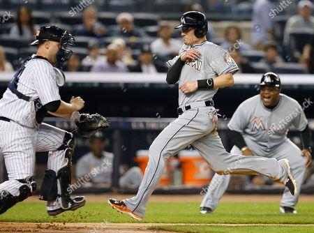 Editorial photo of Marlins Yankees Baseball, New York, USA