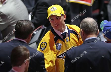 Anthony Richard Anthony Richard shakes hands with executives after being chosen 100th overall by the Nashville Predators during the fourth round of the NHL hockey draft, in Sunrise, Fla