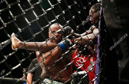 Daniel Cormier, Anthony Johnson Daniel Cormier, left, engages with Anthony Johnson during their light heavyweight title mixed martial arts bout at UFC 187, in Las Vegas
