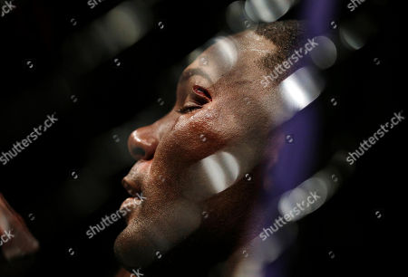 Daniel Cormier, Anthony Johnson Anthony Johnson sits on the mat with a cut above his eye after losing to Daniel Cormier during their light heavyweight mixed martial arts title bout at UFC 187, in Las Vegas