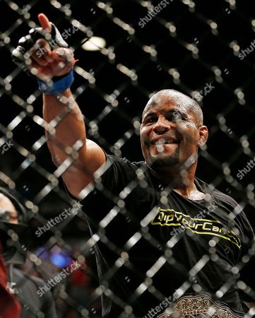 Daniel Cormier Daniel Cormier celebrates after defeating Anthony Johnson in their light heavyweight mixed martial arts title bout at UFC 187, in Las Vegas