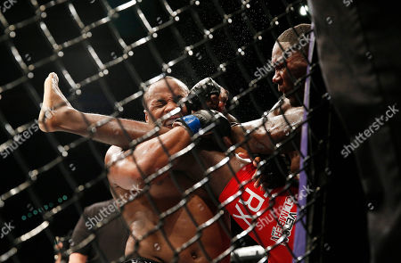 Daniel Cormier, Anthony Johnson Daniel Cormier, left, engages with Anthony Johnson during their light heavyweight title bout at UFC 187, in Las Vegas