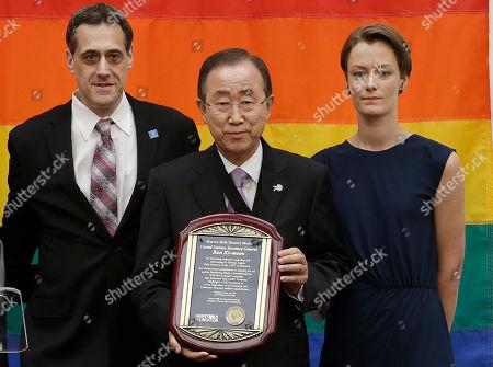 Editorial picture of UN Secretary General, San Francisco, USA