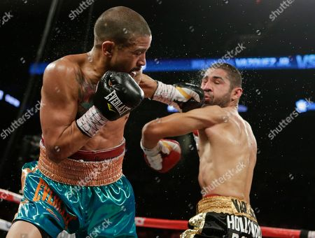 Wilfredo Vazquez Jr Wilfredo Vazquez Jr., left, of Puerto Rico, punches Fernando Vargas, right, of Mexico, during the fourth round of a boxing match, in New York. Vargas won the fight