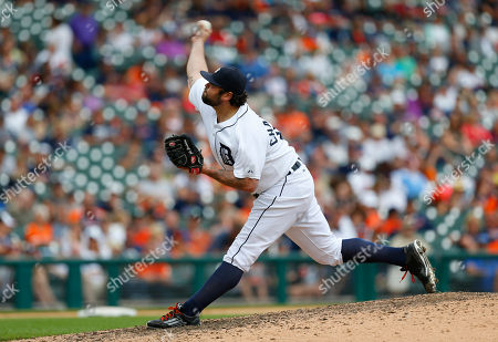 Joba Chamberlain Detroit Tigers relief pitcher Joba Chamberlain throws against the Chicago White Sox in the tenth inning of a baseball game in Detroit