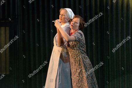 Laura Mithcell (Romilda), Galina Averina (Atalanta)