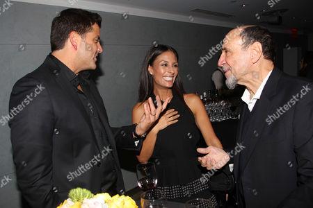 Josh Elliott, Liz Cho and F. Murray Abraham