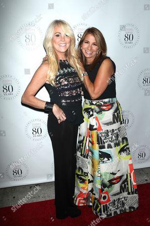 Dina Lohan and Jill Zarin