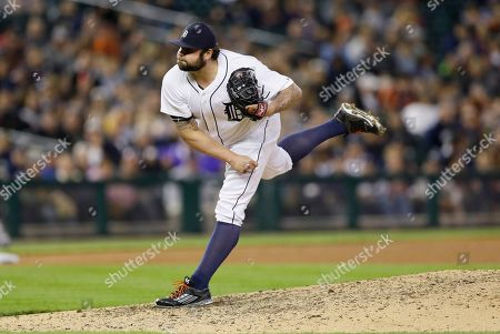 Joba Chamberlain Detroit Tigers relief pitcher Joba Chamberlain throws during the eighth inning of an interleague baseball game against the Milwaukee Brewers, in Detroit
