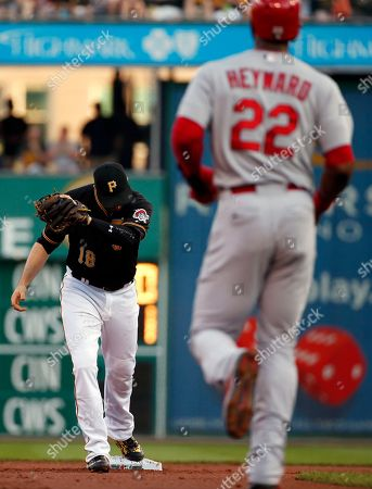 Neil Walker, Jason Heyward Pittsburgh Pirates second baseman Neil Walker, left, gets the third out of a triple play on St. Louis Cardinals' Jason Heyward (22) in the second inning of a baseball game in Pittsburgh, . Cardinals Yadier Molina hit a line drive to Walker that he caught for the first out, then Walker threw to third to get the second out on Cardinals Jhonny Peralta, then Pirates third baseman Jung Ho Kang threw back to Walker at third to complete the triple play