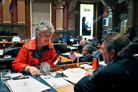 Nancy Todd, Ray Scott Colorado Democratic state Sen. Nancy Todd, left, talks with Republican state Sen. Ray Scott on the closing day of the 2015 Colorado legislative session, at the Capitol in Denver. Colorado lawmakers began the final mad dash to end of the legislative session Wednesday with plenty of major proposals pending in a divided Legislature, where Republicans run the Senate and Democrats control the House