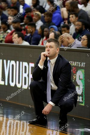 Andy Johnson Findlay Prep head coach Andy Johnson is seen on the sidelines against Montverde Academy in the DICK'S Sporting Goods High School National Basketball Tournament on in Queens, NY
