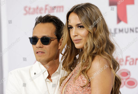 Marc Anthony, Shannon de Lima Singer Marc Anthony and his wife Shannon de Lima, arrive at the Latin Billboard Awards in in Coral Gables, Fla