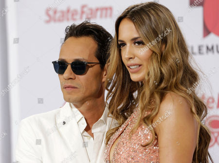 Marc Anthony, Shannon DeLima Singer Marc Anthony and his wife Shannon de Lima arrive at the Latin Billboard Awards on in Coral Gables, Fla