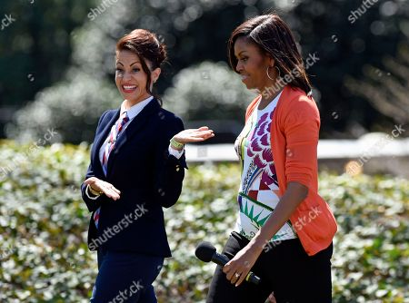 Editorial image of Michelle Obama Easter Egg Roll, Washington, USA